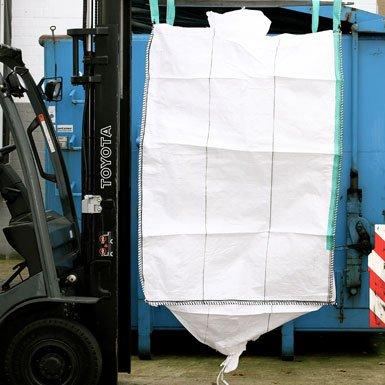 ARTIC.BAG Big Bag 90 x 90 x 110 cm, mit Schürze und Auslauf 35 x 50 cm (Futtermittel Saatgut)