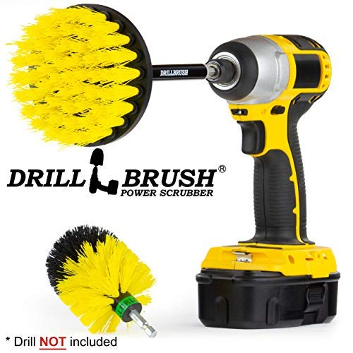 Bathroom Accessories   Grout Cleaner   Drill Brush