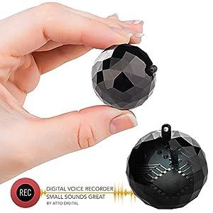 grabadoras ocultas: Mini Grabadora de Voz - 132 Horas de Capacidad - 32 Horas de Duración de la Bate...