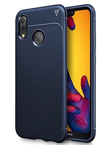 Huawei P20 Lite Cover, iBetter Huawei P20 Lite custodia,ultra protettiva,Resilient assorbimento,Sento comodo,per la Huawei P20 Lite smartphone Huawei P20 Lite smartphone.(Blu)