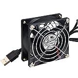 ELUTENG Ventole Per Case USB2.0 Ventola da 80mm 5V Ventilatore immagine