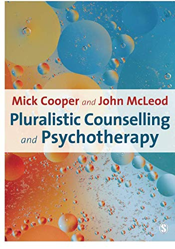 Pluralistic Counselling and Psychotherapy Cover Image