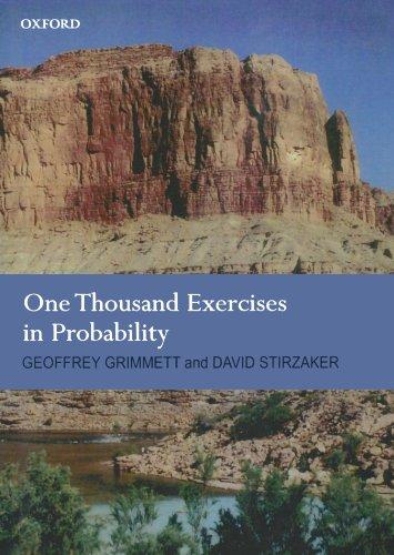 One Thousand Exercises in Probability por Geoffrey Grimmett
