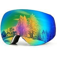 Kasliny Lunettes de Ski, Masque de Ski pour Homme, Femme et Enfants,  Lunettes e00c49c514f4
