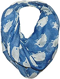 Soft scarfs with fancy patterns