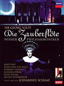 Die Zauberflöte: Wiener Philharmoniker (Solti) [DVD] [2012]