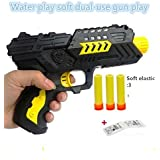 Pacific Toys Gun with Jelly Shots and Soft Foam Bullets, Multi Color