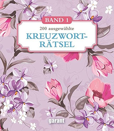 Kreuzworträtsel Deluxe groß - Band 1 (Deluxe Oma Brille)