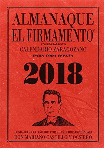 Almanaque El Firmamento 2018 por Castillo y Ocsiero Mariano