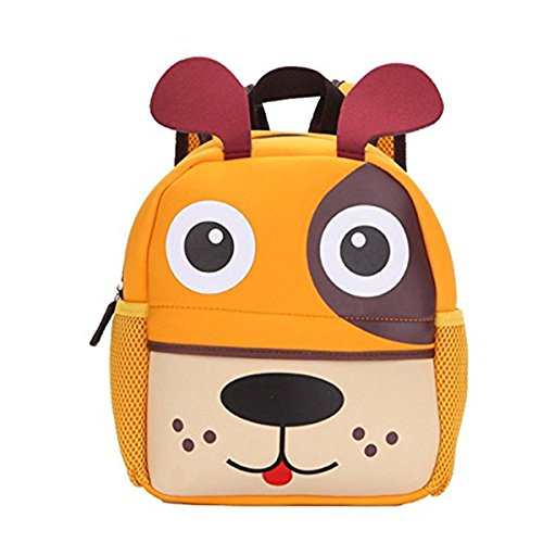Imagen de ruiying bolsa escuela bolso escolar dibujos animados infantil viaje impermeable bolso de escuela / para guardería primaria niño niña perro