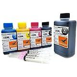 BLUE SWAN 650ml Nachfülltinte Refillset kompatible zu PGI-580 CLI -581 für Canon Pixma TR7550 TR8550 TS6150 TS6151 TS8150