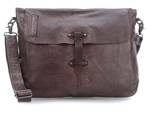 Preisvergleich Produktbild Taschendieb Wien Laptop Messenger dunkelbraun