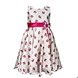Softouch Girls' Frock (Off White_2-3 Yea...