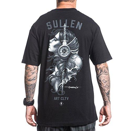 Sullen Clothing Herren T-Shirt - Torch Mens Tee L (Herren-t-shirt Dolch)