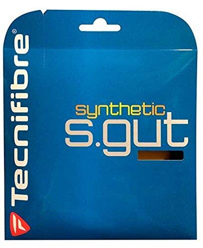 TECNIFIBRE Synthetik gut-Tennis-Squash-String-Schwarz-12M -