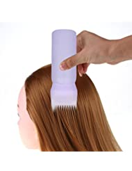 Tefamore Teinture à cheveux chauds Brosse d'applicateur de bouteille Salon de distribution Coloration de cheveux Teinture