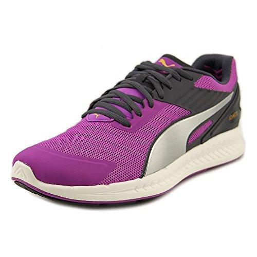 Puma Ignite V2 Synthétique Chaussure de Course Purple Cactus-Puma Silver