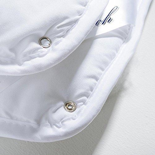 4 Jahreszeiten Bettdecke 135x200 cm Steppdecke atmungsaktiv kochfest, Ganzjahres Steppbett für Winter und Sommer aqua-textil Soft Touch 0010577 -