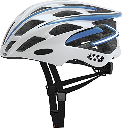 ABUS 137136 - S-FORCE_PRO_RACE_BLUE_M CASCO S-FORCE PRO RACE BLUE TALLA M