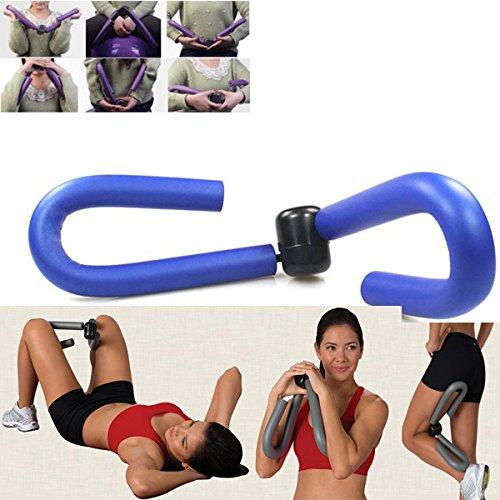 ASUMAN - Máquina de Ejercicios de musculación para ejercitar el Muslo en casa, Gimnasio, Pierna, Brazo, Pierna, Pierna, Recortadora de piernas, Color Azul
