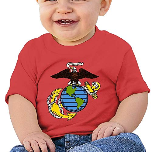 37e275321 Tshirt USMC-Eagle Globe and Anchor Birthday Day 6-24 Months Baby Boy  Toddler's