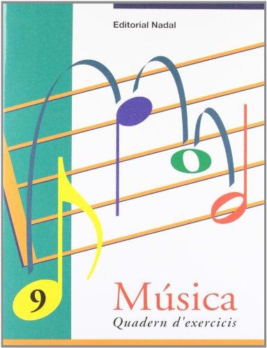 MUSICA 9 QUADERN EXERCICIS EP CATALAN (Musica Exercicis EP)