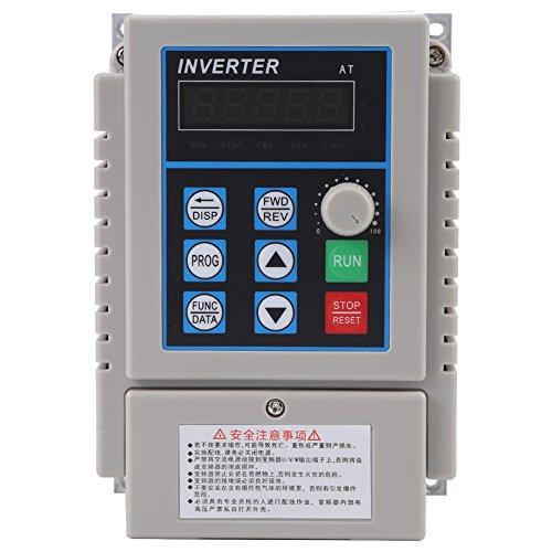 Walfront 1PC AC 220V 0.75KW Variador de Frecuencia de VFD Variable Reg