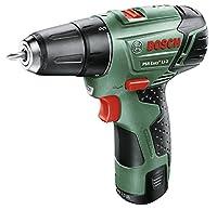 Bosch Bricolaje - 060397290S - Psr Easy+ Li-2 (10,8V) Atornillador Con B...