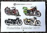 George Morgan Illustration Motorrad Kalender 2019
