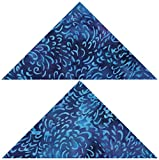 AccuQuilt 55456 Stanzform Flying Geese 3 x 6 Zoll, 7,6 x 15,2 cm fertige Größe
