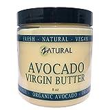 Zatural Avocat ingrédients artificiels pas ingrédients beurre - 100% raw 2 ingrédients uniquement ajouté - (8 onces)