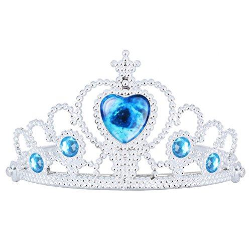 Das beste Unisex Tiara für Abschlussbälle Festzüge Princess Party Krone Geburtstag-Interstellar (Kostüm Hit Girl Baby)