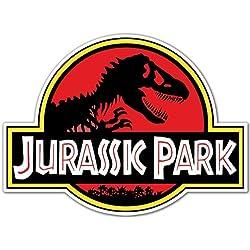 Pegatinas y Moto,,Jurassic Park 10cm ,,