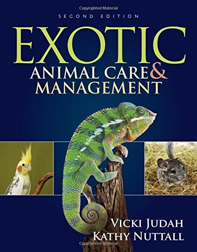 Exotic Animal Care and Management by Vicki Judah (2016-02-24)