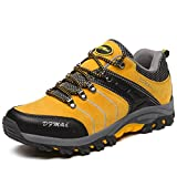 Zapatillas de Trekking Outdoor Walking Travel Zapatos Botas de montaña Zapatillas de senderismo Para Hombre Amarillo40