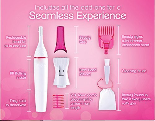 Sweet Sensitive Touch Electric Trimmer For Women (Hair removal)by MaxelNova