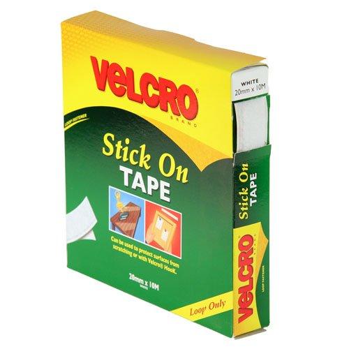 Velcro 7181 Klebebandrolle, 20mmx10m, Weiß