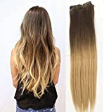 18 Inch Full head clip in 100% human - Best Reviews Guide