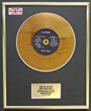 Everythingcollectible Lou Reed/Mini Gold Disc Display/ÉDITION LIMITÉE/COA / NYC Man