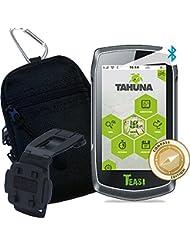 TEASI ONE 3 eXtend - Fahrrad- & Wandernavigation + Tasche + Clip + USB Netzteil