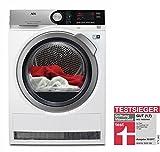 AEG T8DE86685 Wärmepumpentrockner/Energieklasse A+++ (177 kWh pro Jahr)/8 kg/kein Einlaufen der Wäsche/Wäschetrockner mit Wärmepumpe und ProSense-Technologie/weiß