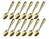 Kreative kleine Löffel Serie von Fischschuppen Spiegel Perlen Löffel,12pcs