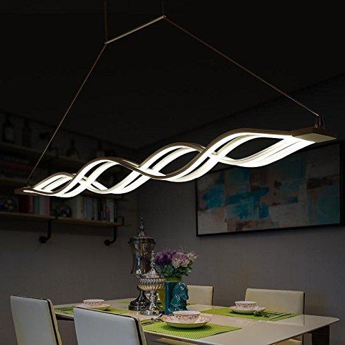 Hauptbeleuchtung Einfache Idee, stimmungsvollen Restaurant LED Lampe Kronleuchter geformte Bar Cafe Kronleuchter Wohnzimmer Lampe 1000 * 80 mm