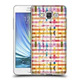 Head Case Designs Offizielle Ninola Vichy Gingan Soft Gel Hülle für Samsung Galaxy A5 (2015)