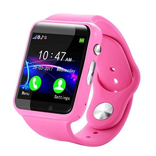 LCLrute Kind IP67 imprägniern Smart Watch GPS Tracker der Eignungs-Uhr-G10A (Pink)