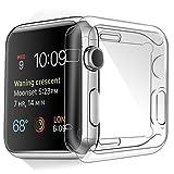 Apple Watch Caso, Custodia Protettiva Trasparente Ultrasottile Di Gel In Silicone TPU 0,3 Mm per Apple Watch 42 mm (Apple Watch 42 mm Custodia)