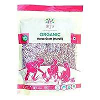 Arya Farm 100% Certified Organic Horse Gram, 1 Kg (Huruli/Kollu/Kulthi Dal/Ulavalu) (No Chemicals/No Pesticides)