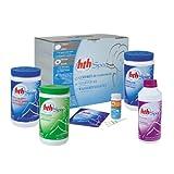 Alice's Garden - Kit complet traitement de l'eau au Brome, coffret d'entretien HTH pour SPA gonflable