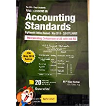 First Lesson in Accounting Standards