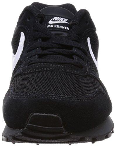 separation shoes 509b2 58350 Nike MD Runner 2, Scarpe da Ginnastica Uomo, Nero (Blackwhiteanthracite),  45.5 EU